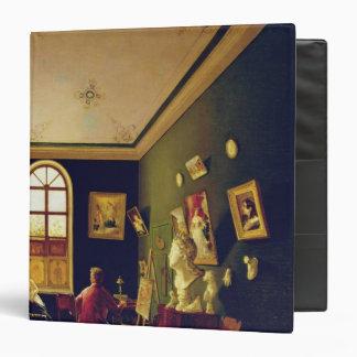 The Painter's Studio, 1843 Vinyl Binder