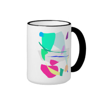 The Painting Came Out of the Cave in 1965 Ringer Coffee Mug
