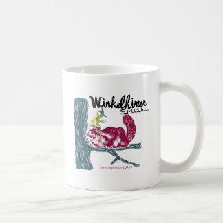 The Painting Squirrel,Winkelhimer Smith Classic White Coffee Mug