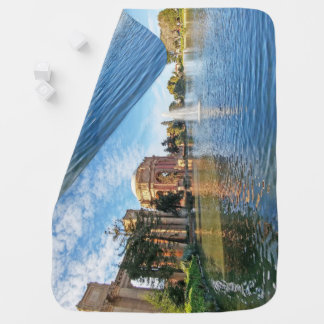 The Palace of Fine Arts California Baby Blanket