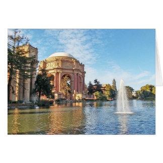 The Palace of Fine Arts California Card