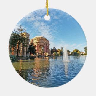 The Palace of Fine Arts California Ceramic Ornament