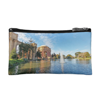 The Palace of Fine Arts California Cosmetic Bag
