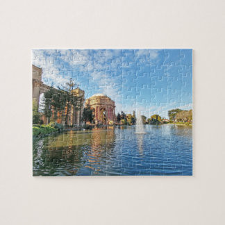 The Palace of Fine Arts California Jigsaw Puzzle