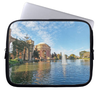 The Palace of Fine Arts California Laptop Sleeve