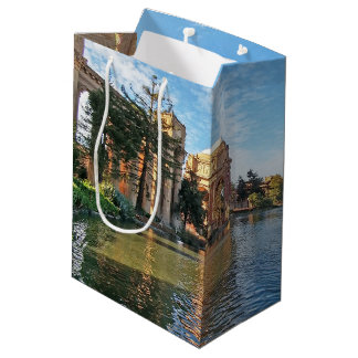 The Palace of Fine Arts California Medium Gift Bag