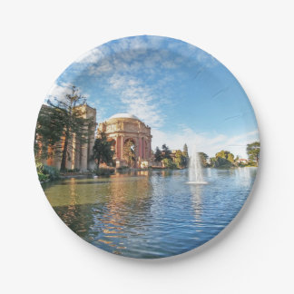 The Palace of Fine Arts California Paper Plate