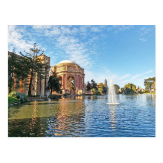The Palace of Fine Arts California Postcard