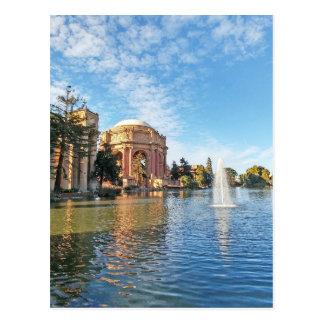 The Palace of Fine Arts California Postcard