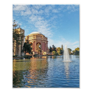 The Palace of Fine Arts California Poster