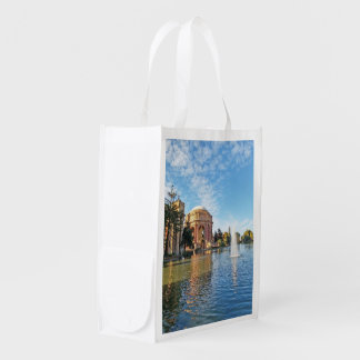The Palace of Fine Arts California Reusable Grocery Bag