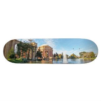 The Palace of Fine Arts California Skateboard