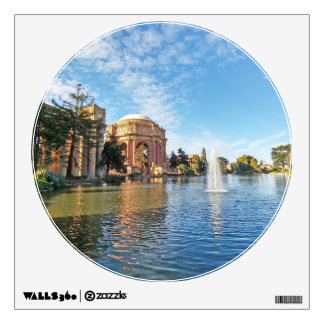 The Palace of Fine Arts California Wall Decal