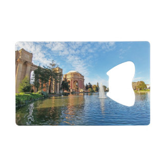 The Palace of Fine Arts California Wallet Bottle Opener