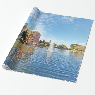The Palace of Fine Arts California Wrapping Paper