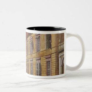 The Palace of Prince Ferdinand of Prussia Two-Tone Coffee Mug