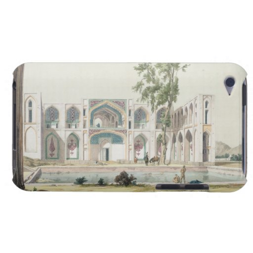 The Palace of Tchar-Bag at Isfahan, Persia, plate iPod Case-Mate Cases