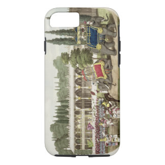 The Palace of Tippoo Sahib (1749-99) engraved by T iPhone 7 Case
