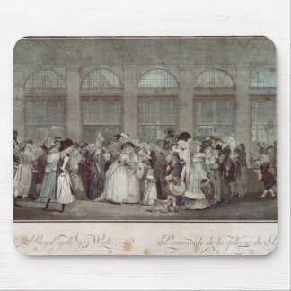 The Palais Royal Gallery's Walk, 1787 Mousepads