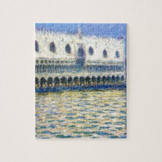 The Palazzo Ducale by Claude Monet Jigsaw Puzzle