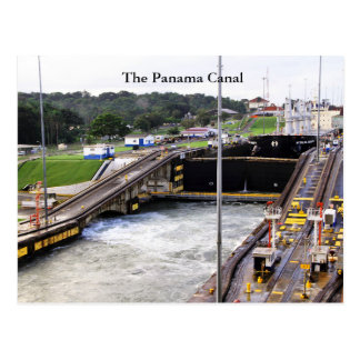 The Panama Canal, High Def Photography Postcard