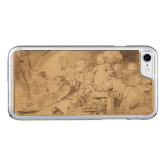 The Pancake Maker by Jean-Honore Fragonard Carved iPhone 7 Case