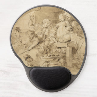 The Pancake Maker by Jean-Honore Fragonard Gel Mouse Pads