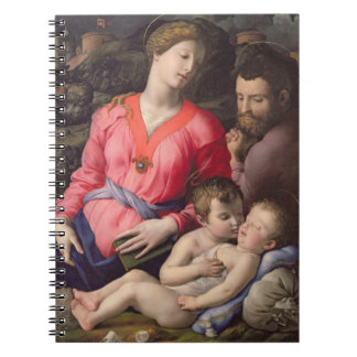 The Panciatichi Holy Family, c.1530-32 (oil on pan Notebooks