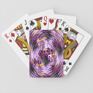 The Pansies within.... Playing Cards