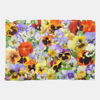 The Pansy Collection Kitchen Towel