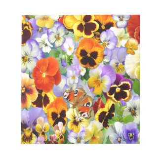 The Pansy Collection Notepad