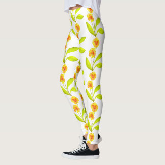 'The Pansy Party' on Leggings (III)