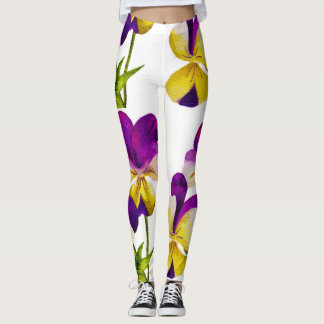 'The Pansy Party' on Leggings (IV)