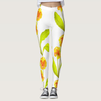 'The Pansy Party' on Leggings (VI)
