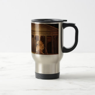 The Pantheon and the Fontana del Pantheon in Rome Travel Mug