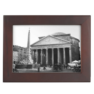 The Pantheon in Rome, Italy Keepsake Box