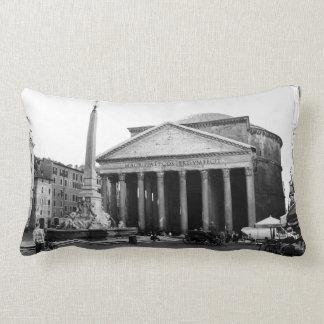 The Pantheon in Rome, Italy Lumbar Pillow