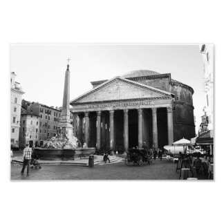The Pantheon in Rome, Italy Photo Print
