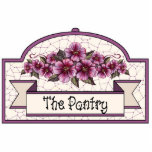"""The Pantry"" - Decorative Sign - 33 Photo Cutouts"
