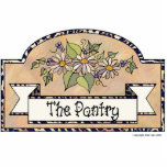 """The Pantry"" - Decorative Sign Photo Cutouts"