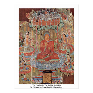 The Paradise Of The Buddha Amitabha Postcard