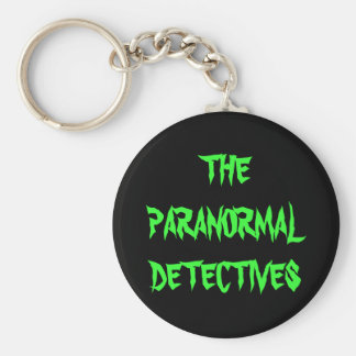 The Paranormal Detectives Keychain