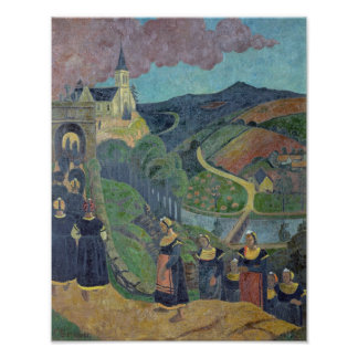 The Pardon of Notre-Dame-des-Portes at Poster