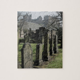 The Parish Church of St. Cuthbert Cemetery Jigsaw Puzzle
