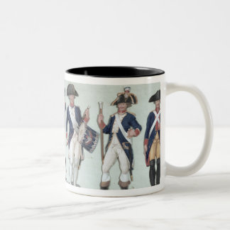 The Parisian Army during the French Two-Tone Coffee Mug