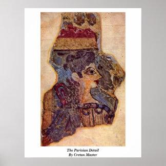The Parisian Detail By Cretan Master Poster