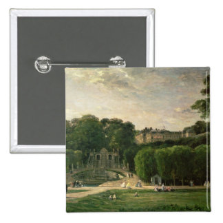 The Park at St. Cloud, 1865 2 Inch Square Button