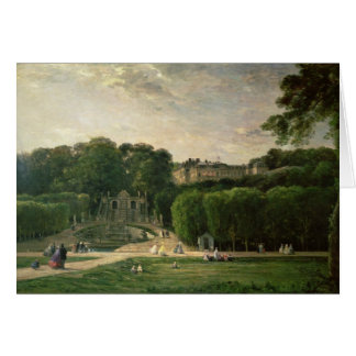 The Park at St. Cloud, 1865 Greeting Card