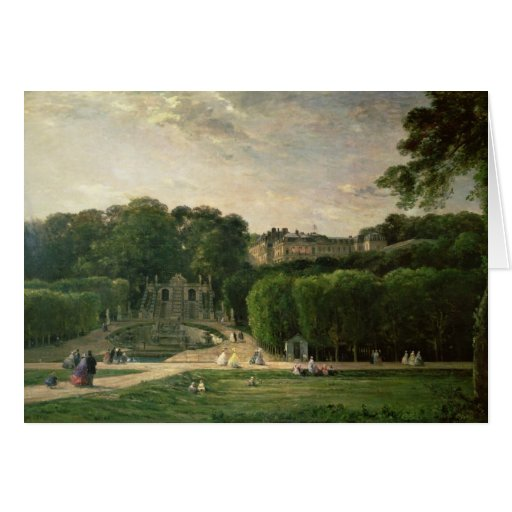 The Park at St. Cloud, 1865 Greeting Cards