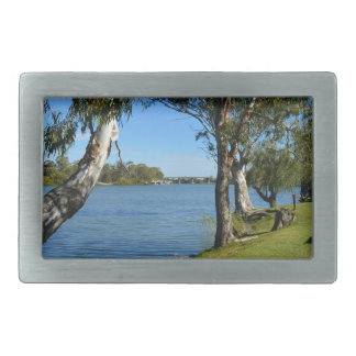 The Park Bench, Berri, South Australia, Belt Buckle